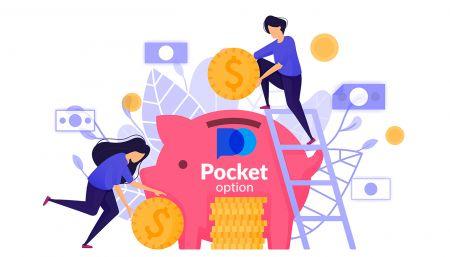 Cara Menarik dan Melakukan Deposit Uang di Pocket Option